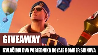 WE'VE EXTRACTED TWO WINNERS OF THE ROYALE BOMBER FORTNITE SKINS
