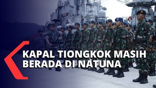 Kapal-kapal TNI AL Terus Melakukan Komunikasi Persuasif Demi Usir Kapal Tiongkok
