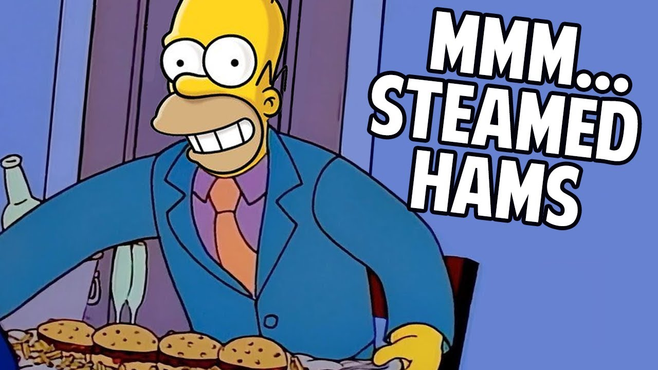 Steamed Hams, but Everyone Is Homer - YouTube