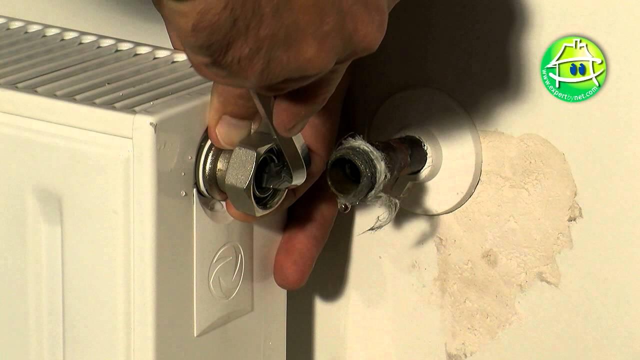 comment remplacer le robinet de votre radiateur