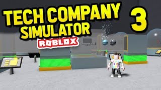 ROBLOX TECH COMPANY SIMULATOR #3