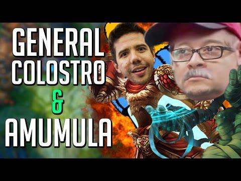 O GENERAL COLOSTRO e o AMUMULA!