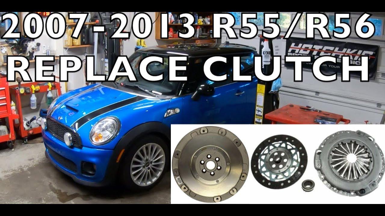 Replace MINI Cooper S Clutch 2007 2013~ R56 R55 R58 R59