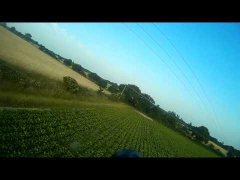 z84 wing low flying fpv fun!
