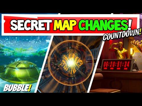 *NEW* Fortnite Secret Map Changes!