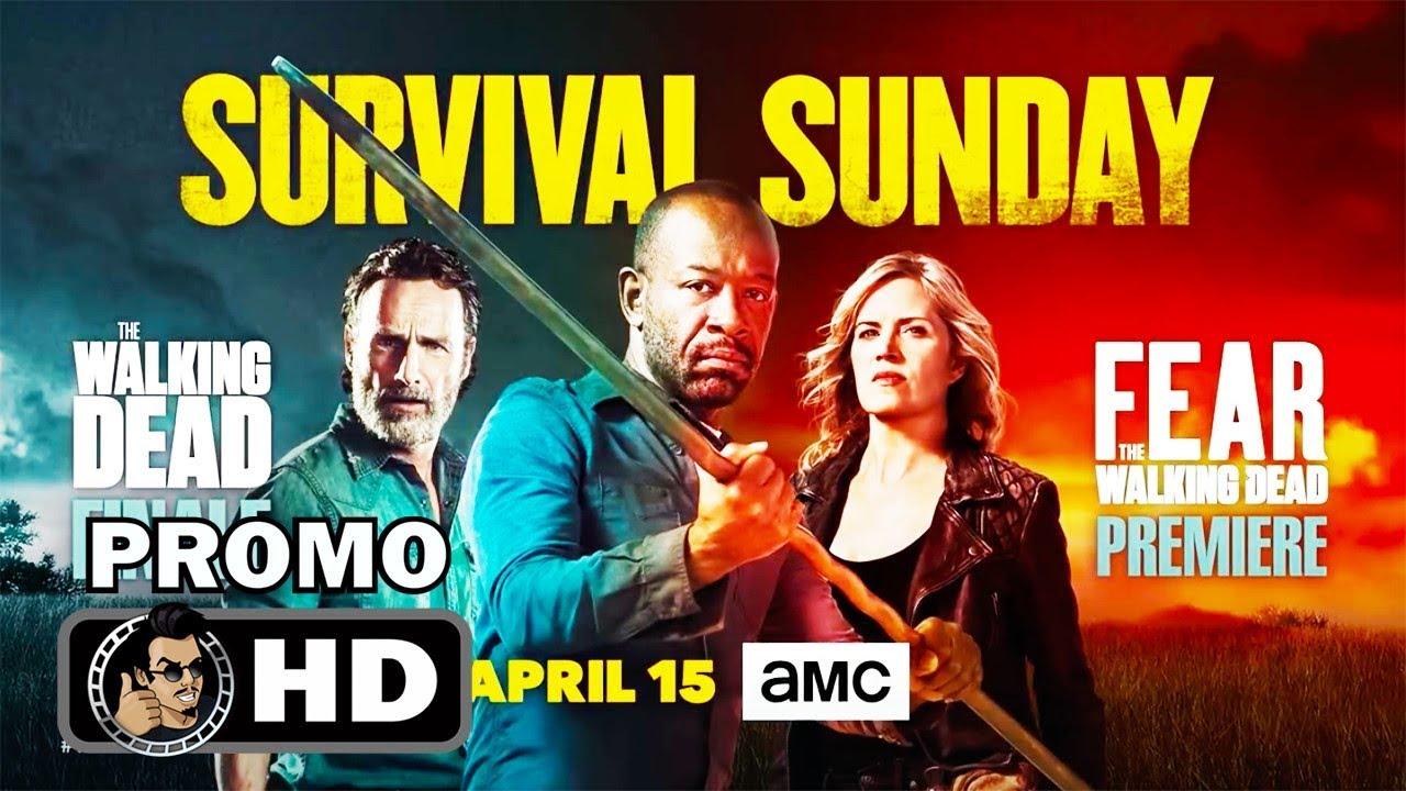 THE WALKING DEAD/FEAR THE WALKING DEAD Official Crossover Promo (HD) AMC  Series