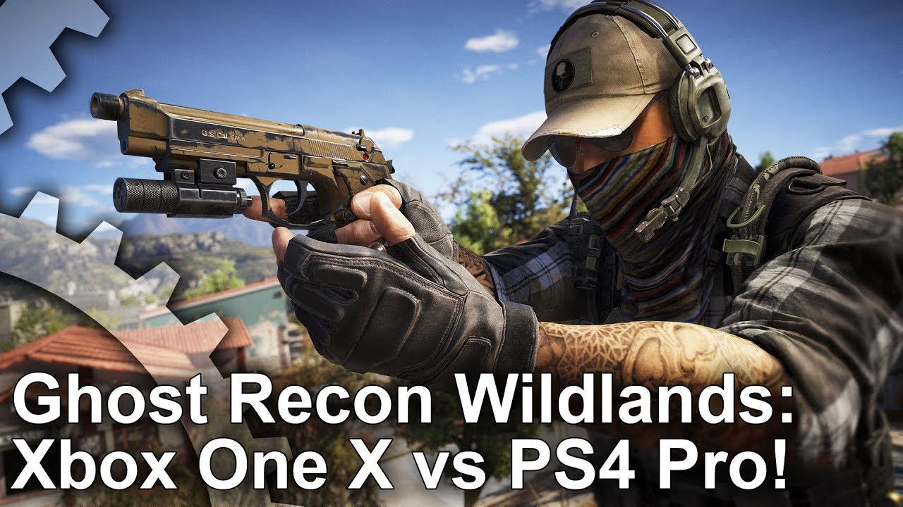 [4K] Ghost Recon Wildlands: An Xbox One X Surprise Package?