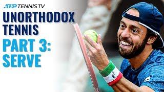 Most Unorthodox ATP Tennis Players Part 3: Serve screenshot 4