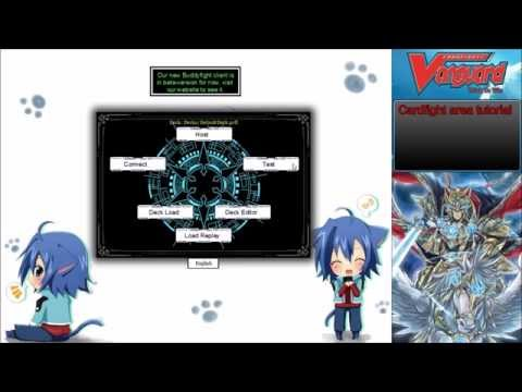 Cardfight!!! Vanguard - Cardfight Area Tutorial (How download/play Cardfight!!! Vanguard online)