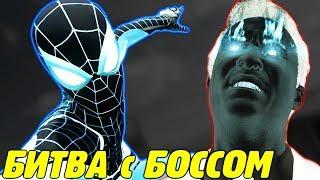 ДОЛГОЖДАННАЯ БИТВА С БОССОМ НЕГАТИВ Marvel's Spider Man! Игра по мультику Человек Паук  #24