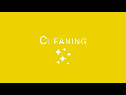 Hygiene & Safety: Cleaning