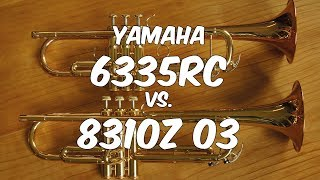 TrumpetScout Trompetentest: Yamaha 6335RC vs. 8310Z 03