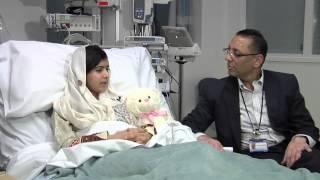Malala Yousufzai talks about her surgery