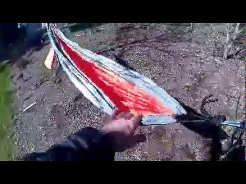 MalloMe XL Double Parachute Camping Hammock Review - The