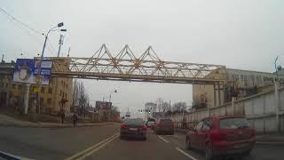 Поездка по Киеву: Софиевская Борщаговка - улица Рейтерская