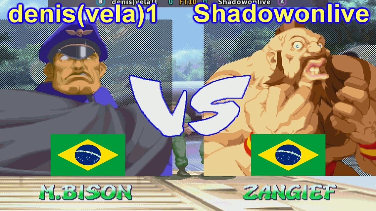 Street Fighter Alpha 2 - denis(vela)1 vs Shadowonlive FT10