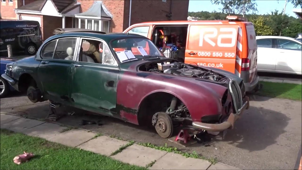 Final Cut Jaguar XJR into 1966 S type Draguar Bechams 4.0ltr Supercharged Resto Mod