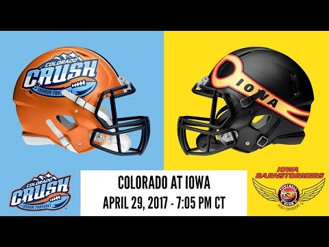 Week 11 | Colorado Crush at Iowa Barnstormers