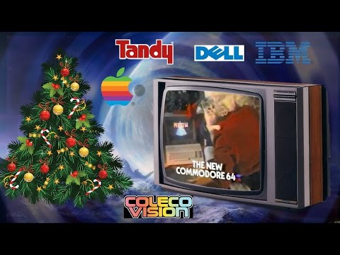 Retro Computer Christmas TV Commercials / Adverts Compilation.