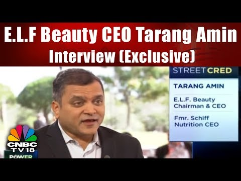 E.L.F Beauty CEO Tarang Amin Interview ( Exclusive) | Power Lunch | CNBC TV18