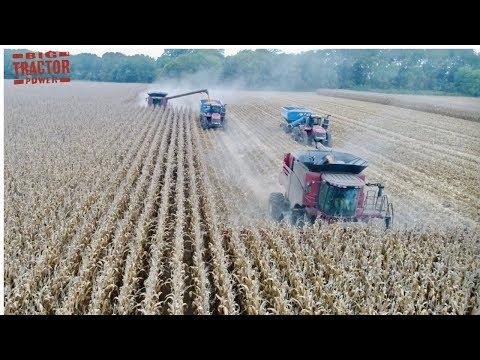 Best 2018 Big Farm Machine Video Clips Working Side By Side