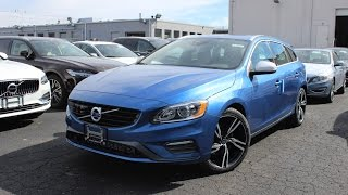2017 Volvo V60 T6 R-Design: In Depth First Person Look