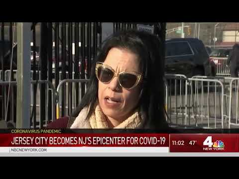 Jersey City Becomes NJ Epicenter for COVID-19 | NBC New York