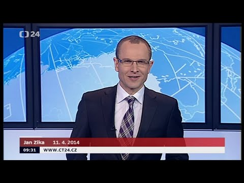Czech TV News, 4/11/2014, Jan Zika