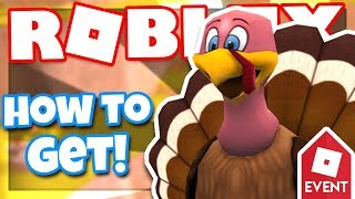 [EVENT] How to get the TURKEY FRIEND | Roblox High School