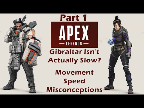 Movement Speed Analyzed | Part 1 | Apex Legends Debunked