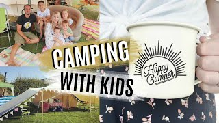 HOW TO CAMP WÏTH KIDS | FAMILY CAMPING TIPS | CAMPING HACKS