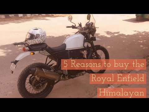 5 Reasons to Buy Royal Enfield Himalayan | Royal Enfield Himalayan Review | MT Helmet