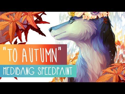 To Autumn   SPEEDPAINT   Medibang Paint Pro