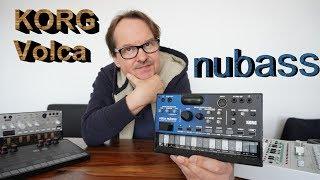 KORG Volca Nubass - anything new? (review & jam)