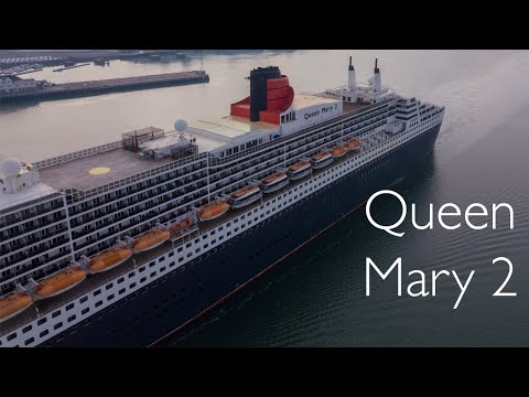 Queen Mary 2 Returning to Port of Southampton from Weymouth Bay