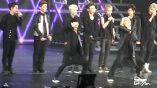 140511 EXO Comeback Showcase in Shanghai 教跳舞 lay focus cr.Rokugatsu