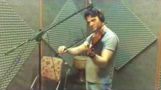 Iranian violin on segah mode تكنوازى ويلن در سه گاه
