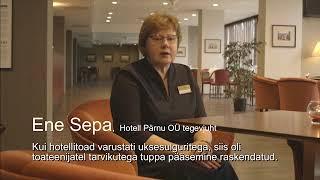 Tööinspektsiooni parim praktika 2017 Hotell Pärnu
