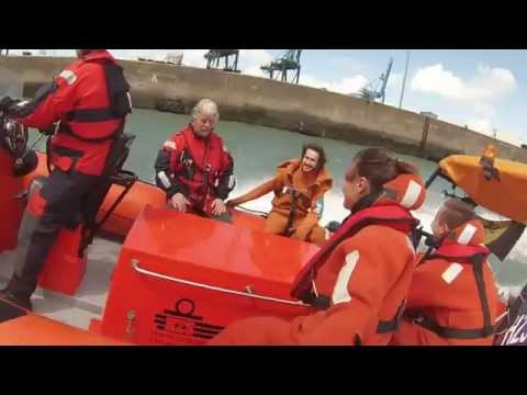 Fast Rescue Boat in Zeebrugge