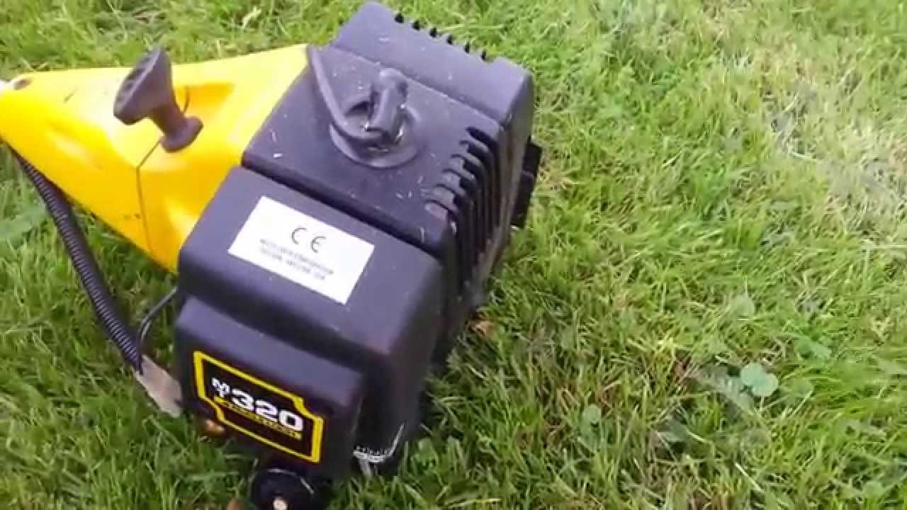 mcculloch mt 320 with p25 trimmer head youtube rh youtube com mcculloch mt 320 petrol strimmer manual