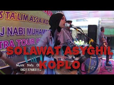SHOLAWAT ASYGHIL FERSI KOPLO MUTIK NIDA RATU KENDANG INDONESIA  GEMUH KENDAL