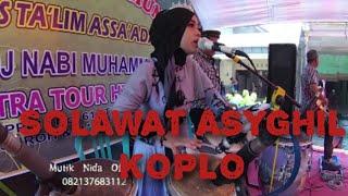 SHOLAWAT ASYGHIL FERSI KOPLO MUTIK NIDA RATU KENDANG INDONESIA LIVE GEMUH KENDAL