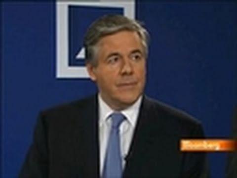 Deutsche Bank's Ackermann Says `Euro Crisis Behind Us'