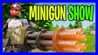 MINIGUN İLE AĞIR TROLL İÇERİR | 50v50 v2 Modu (Fortnite Battle Royale Gameplay Türkçe)