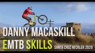 Danny macaskill on santa cruz heckler 2020   emountainbike skills emtb ebikecredits by and bikes follow us instagra...