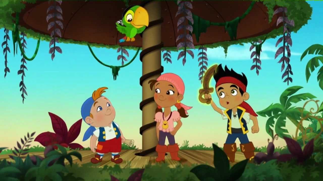 Jake E Os Piratas Da Terra Do Nunca Pozinho Mágico à Disposição