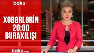 Xəbərlərin - 20.00 buraxılışı (24.01.2020)