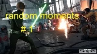 Star wars battlefront random moments compilation # 1 - funny luke hunt