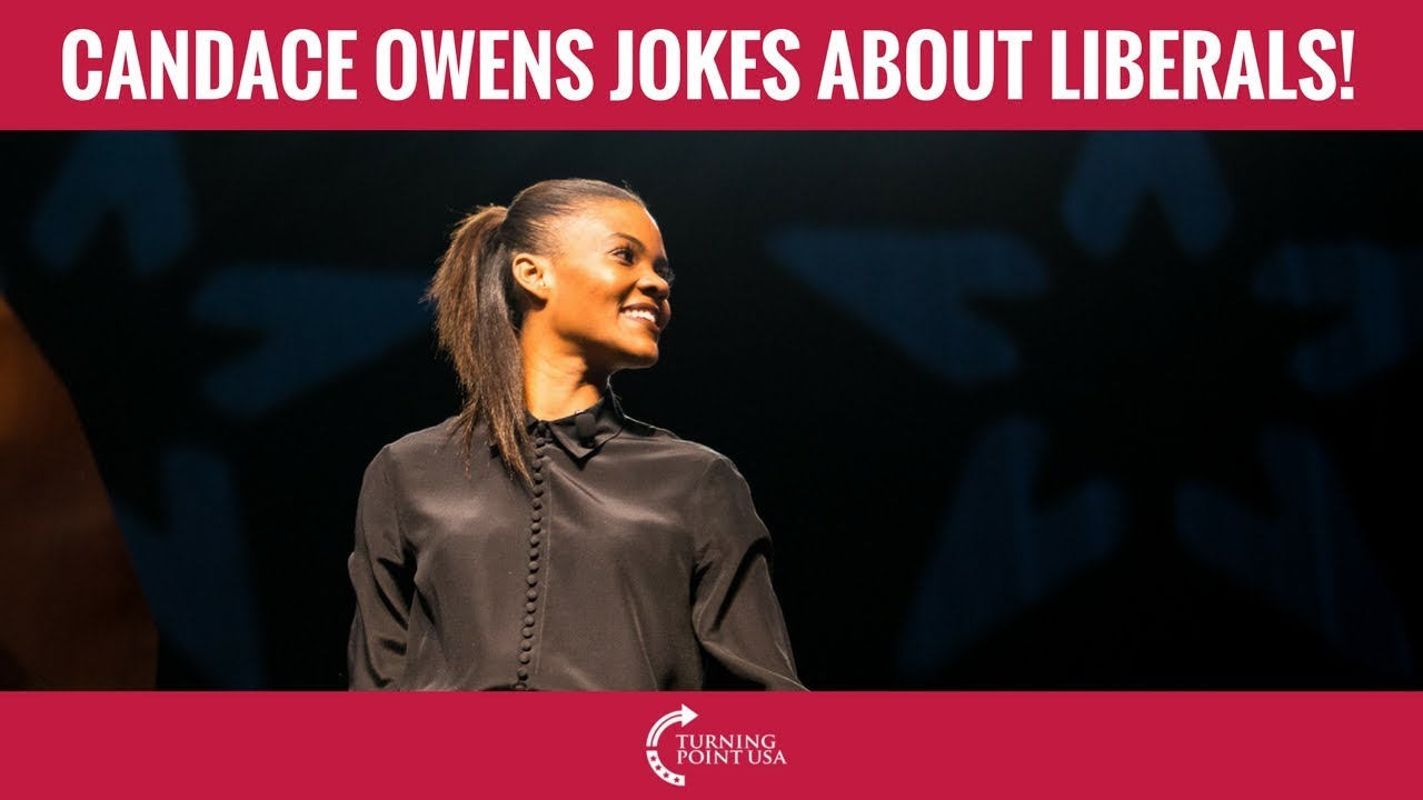 Candace Owens Tells Hilarious Joke About Liberals YouTube