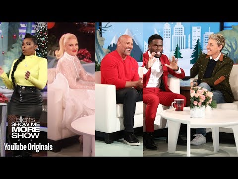 Jennifer Hudson, Dwayne Johnson & Kevin Hart, and Gwen Stei on Blake